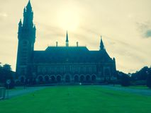 Peace Palace Den Haag. Historic building representing peace in Den Haag, Netherlands Stock Photos