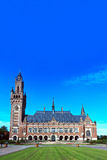 Peace Palace, Den Haag, Netherlands. Peace Palace Seat of the International Court of Justice, principal organ of the United Nations located in The Hague royalty free stock image