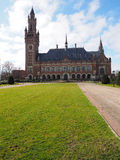 The Peace palace and front lawn Royalty Free Stock Photos