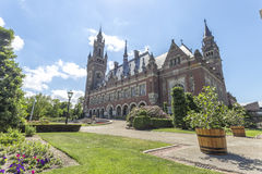 The Peace Palace garden Royalty Free Stock Photos