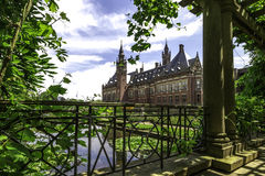 Peace Palace garden Royalty Free Stock Images