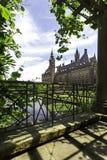 Peace Palace garden Stock Photo
