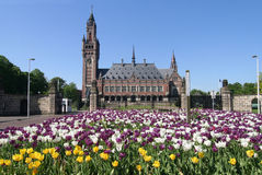 Peace Palace in The Hague Stock Photography