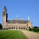 The Peace Palace in The Hague( Holland) Stock Photo