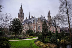 Peace palace the hague Royalty Free Stock Photography