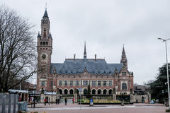 Peace palace the hague Royalty Free Stock Images