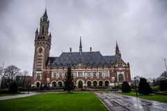 Peace palace the hague Stock Images