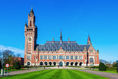 Peace Palace in The Hague, Netherlands Stock Photos