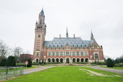 Peace Palace in The Hague, the Netherlands Stock Photo