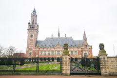 Peace Palace in The Hague, the Netherlands. The Peace Palace is an international law building in The Hague, the Netherlands. It houses the International Court of Stock Photos