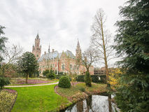 Peace Palace in The Hague, the Netherlands Stock Images