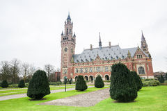 Peace Palace in The Hague, the Netherlands Stock Photos