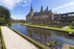Peace Palace International Court of Justice ICJ Royalty Free Stock Images