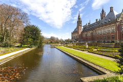 Peace Palace International Court of Justice ICJ Royalty Free Stock Photos