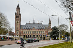 The Peace Palace - Seat of the International Court of Justice Royalty Free Stock Images