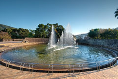 Peace Park, Nagasaki, Japan. This is the place where the atomic bomb dropped in Stock Images