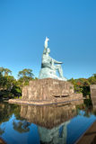 Peace Park, Nagasaki, Japan. This is the place where the atomic bomb dropped in Royalty Free Stock Images