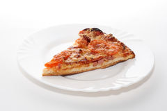 A peace of pizza Stock Image