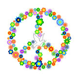 Peace please Stock Photography