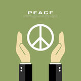 Peace poster Stock Photo