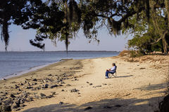 Peace and quiet on Jekyll Island Stock Images