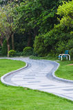 Peace  road  in  park. The  peace  road  in  park  ,in  nanning  of  china Royalty Free Stock Images