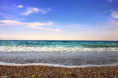 Peace in the sea Royalty Free Stock Photography