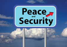 Peace and security and sky Royalty Free Stock Photography