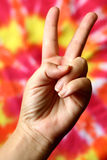 Peace Sign Stock Image
