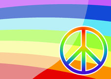 Peace sign Stock Photography