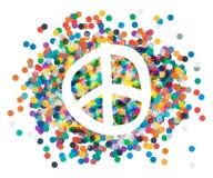 Peace sign. Beautiful symbol of peace Stock Photo