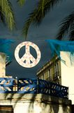 Peace Sign Ibiza Royalty Free Stock Photography