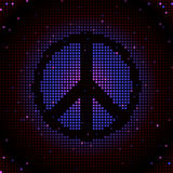 Peace sign mosaic Royalty Free Stock Images