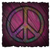 Peace sign, symbol Stock Images