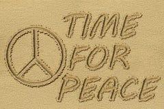 Peace sign. Royalty Free Stock Photos