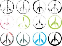 Peace signs Stock Photos