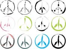 Peace signs stock photos