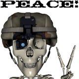 Peace skull Stock Photos