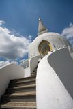 Peace stupa Royalty Free Stock Images