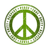 Peace symbol Stock Images