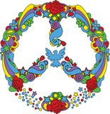 Peace symbol Royalty Free Stock Photography