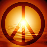 Peace symbol Royalty Free Stock Photo