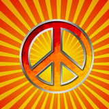 Peace symbol Stock Photo