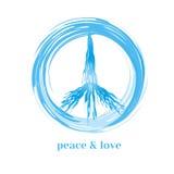 Peace symbol concept Royalty Free Stock Photo