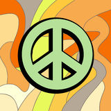 Peace symbol. Creative design of peace symbol Stock Photos