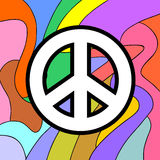 Peace symbol. Creative design of peace symbol royalty free illustration