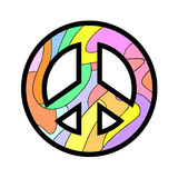 Peace symbol. Creative design of peace symbol Stock Photo