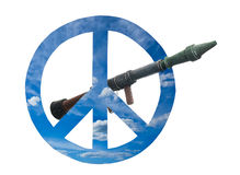 Peace symbols Royalty Free Stock Image