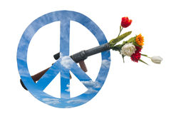 Peace symbols Royalty Free Stock Images