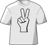Peace T-Shirt Stock Photo